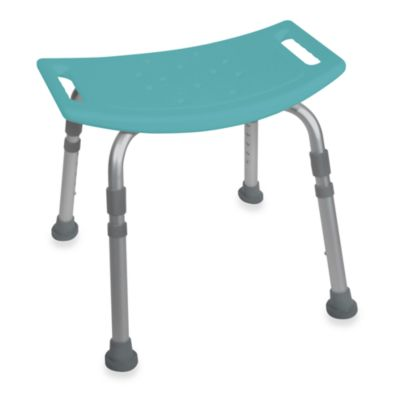 Drive Medical Bathroom Safety Shower Tub Chair in Teal