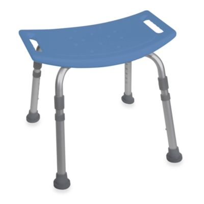 Drive Medical Bathroom Safety Shower Tub Chair in Blue