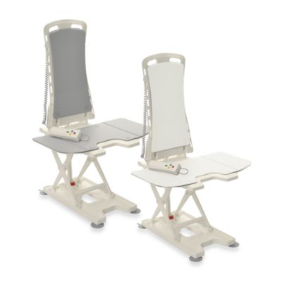 Drive Medical Bellavita Auto Bath Tub Chair Seat Lift in Grey