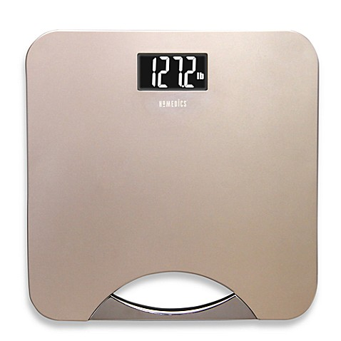 HoMedics® Digital Bath Scale in Champagne