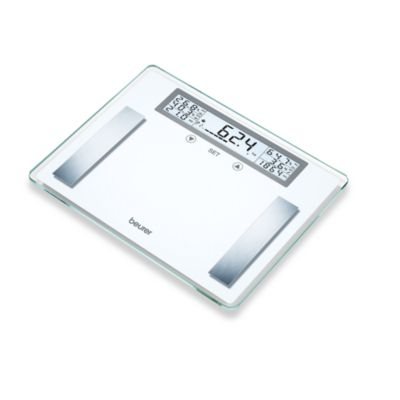 Beurer Body Analysis Glass Scale with Extra-Large LCD