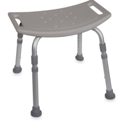 Drive Medical Bathroom Safety Shower Tub Chair in Grey