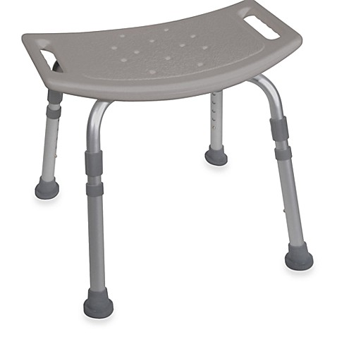 Buy drive medical bathroom safety shower tub chair in grey from bed bath beyond for Drive medical bathroom safety shower tub chair