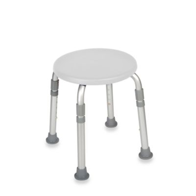 Drive Medical Adjustable-Height Bath Stool
