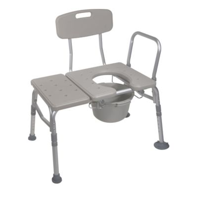 Drive Medical Transfer Bench and Commode