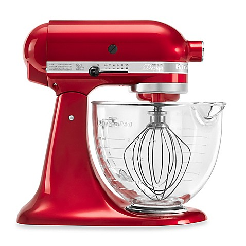 KitchenAid® 5-Quart Artisan® Design Series Stand Mixer with Glass Bowl