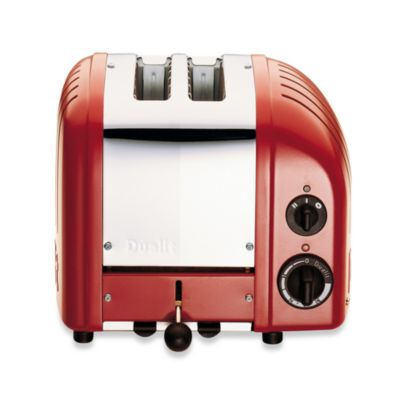Dualit® 2-Slice NewGen Classic Toaster in Red