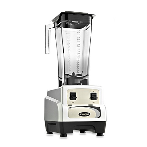 Omega® BL430S 82-Ounce 3-HP Variable Speed Blender with Pulse Control in Silver
