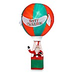 Airblown® 15-Foot Santa Hot Air Balloon with Merry Christmas Banner