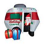 Airblown® 6.5-Foot Animated Santa in Holiday Camper