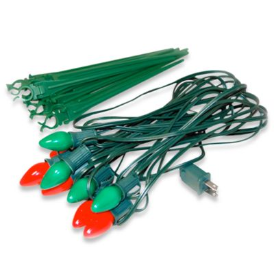Red/Green Christmas Lights