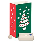Battery Operated Christmas Tree LED Luminaria Kit - 12 Count