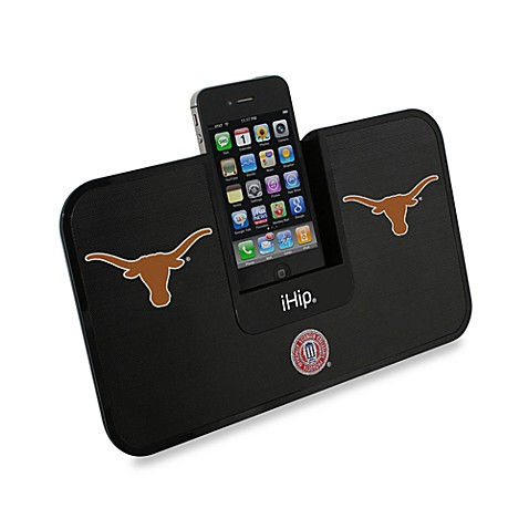 University of Texas iHip® iDock Portable Stereo System