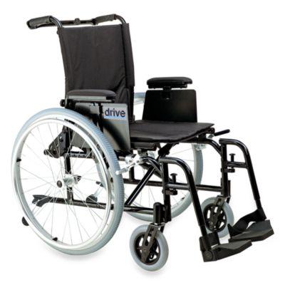 Drive Medical Cougar Ultralight Aluminum 16-Inch Wheelchair