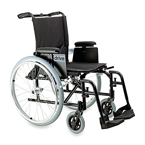 Drive Medical Cougar Ultralight Aluminum 18-Inch Wheelchair