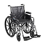 Drive Medical Chrome Sport 18-Inch Wheelchair