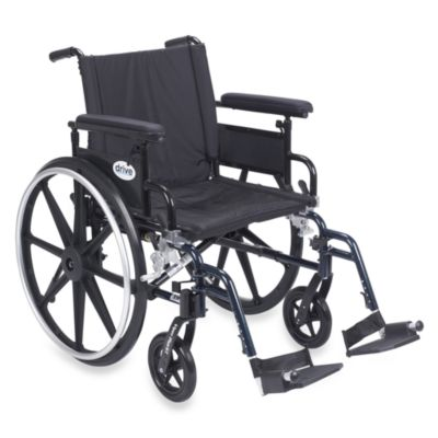 Drive Medical Viper Plus GT 20-Inch Wheelchair