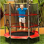Kids Airzone 55-Inch Trampoline with Enclosure