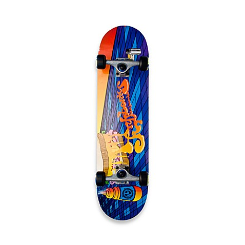 Kryptonics 31-Inch Rebel Skateboard