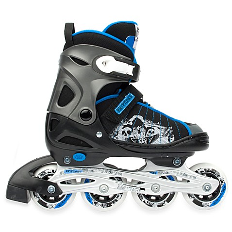 Kryptonics Vicious Adult Adjustable Inline Skates