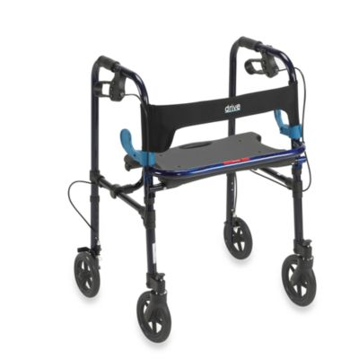 Drive Medical Clever Lite Rollator w/8-inch Wheels