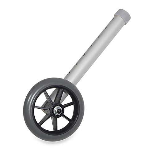Drive Medical Grey Universal 5-Inch Walker Wheels