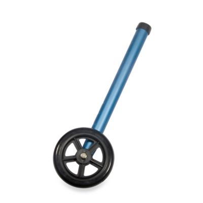 Drive Medical Blue Universal 5-Inch Walker Wheels