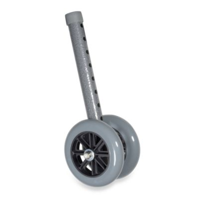 Drive Medical 5-Inch Bariatric Walker Wheels