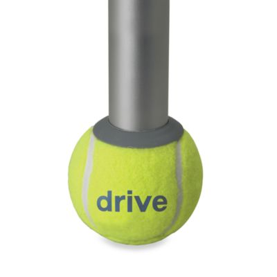 Drive Medical Walker Tennis Ball Glides with Extra Replacement Glide Pads