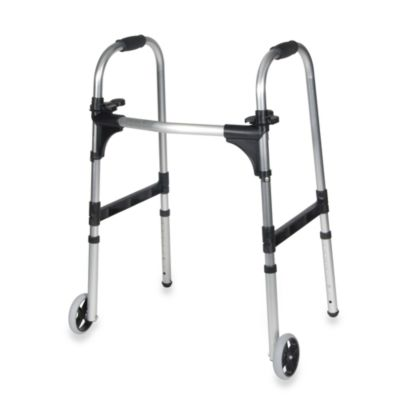 Drive Medical Adult Paddle Walker with Wheels