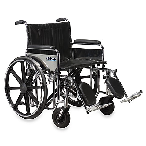 Drive Medical Sentra 20-Inch Extra-Heavy Duty Wheelchair