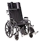 Drive Medical Sentra 20-Inch Full-Reclining Wheelchair