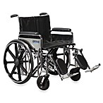 "Drive Medical Sentra 24"" Extra-Heavy Duty Wheelchair"