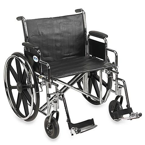 Drive Medical Sentra Ec Heavy Duty  Inch Wheelchair This Heavy Duty