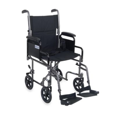 Drive Medical Lightweight Steel Transport Chair