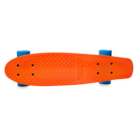 Kryptonics 22.5-Inch Torpedo Skateboard in Orange