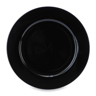 Everyday Color Black Rim Dinner Plate in 10 1/2-Inch