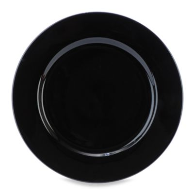 Everyday Color Black Rim Salad Plate in 8-Inch