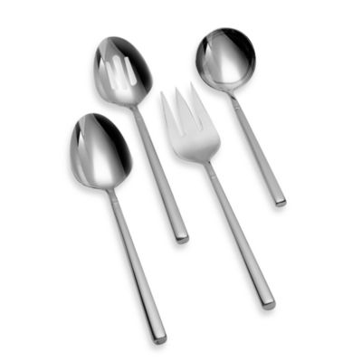 Svelte Hostess 4-Piece Stainless Steel Set
