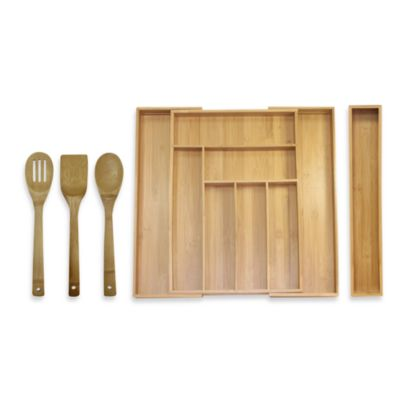 Bamboo Kitchen Organization