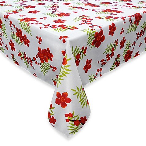 "Cherry Blossom 60"" x 102"" Umbrella Tablecloth"