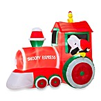 Airblown® 5-Foot Train with Snoopy and Woodstock Scene