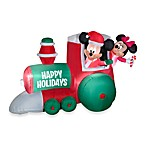 Airblown® 4-Foot Train with Mickey and Minnie