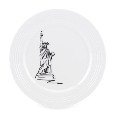 Lenox® Tin Can Alley® 9-Inch New York Accent Plate