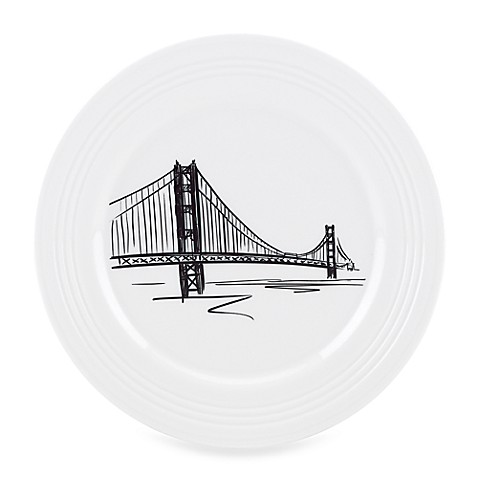 Lenox® Tin Can Alley® 9-Inch San Francisco Accent Plate