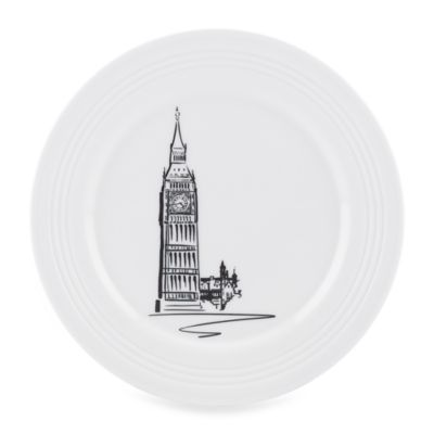 Lenox 9 White Accent Plate