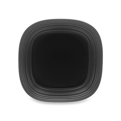 Mikasa® Swirl Square Platter in Black