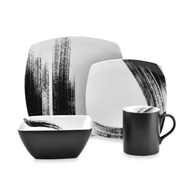 Mikasa® Brushstroke 4-Piece Square Place Setting