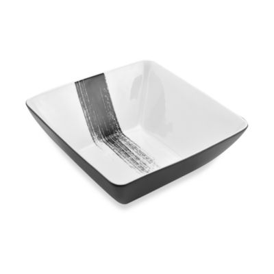 Mikasa® Brushstroke 10-Inch Square Vegetable Bowl