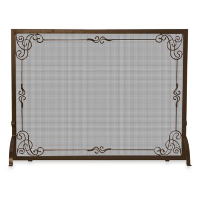 UniFlame® S-1615 44-Inch Bronze Fireplace Screen